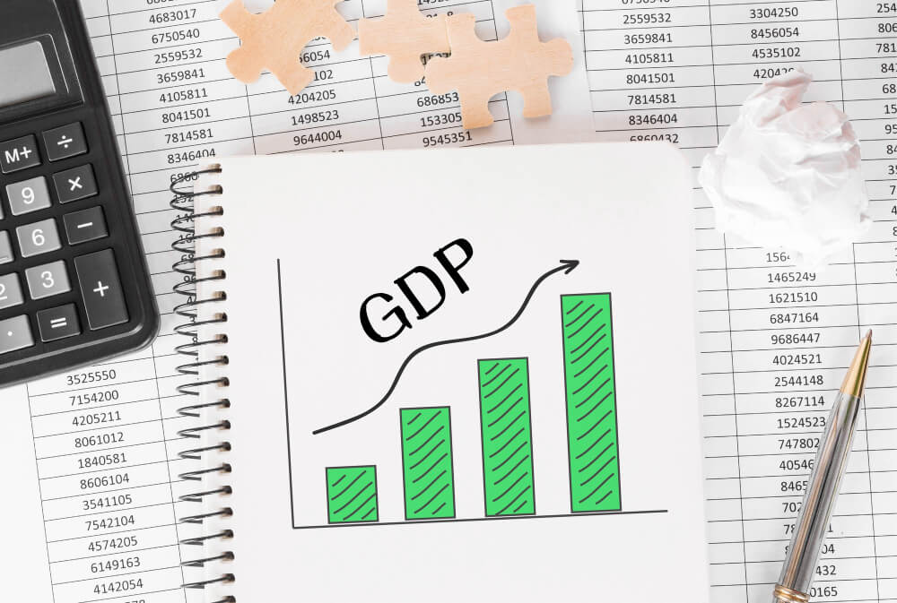 notebook-with-toolls-notes-about-gdp