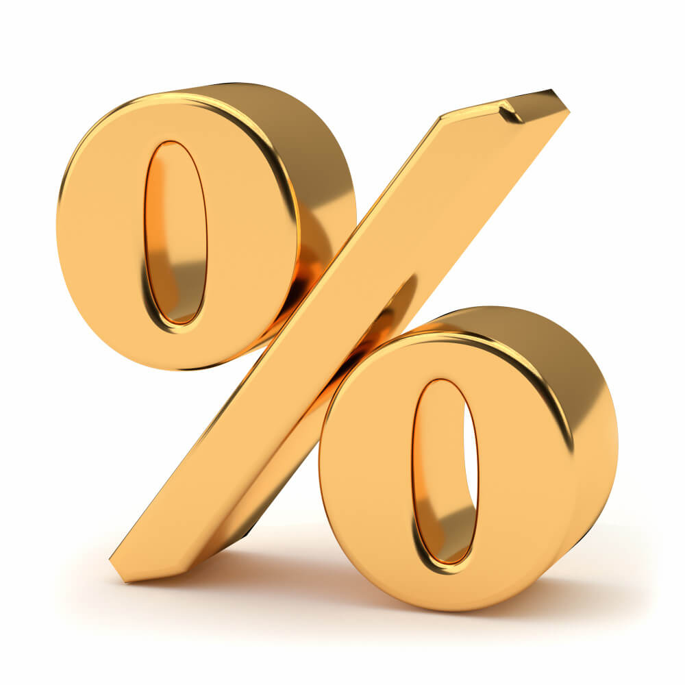 golden-percentage-sign-isolated