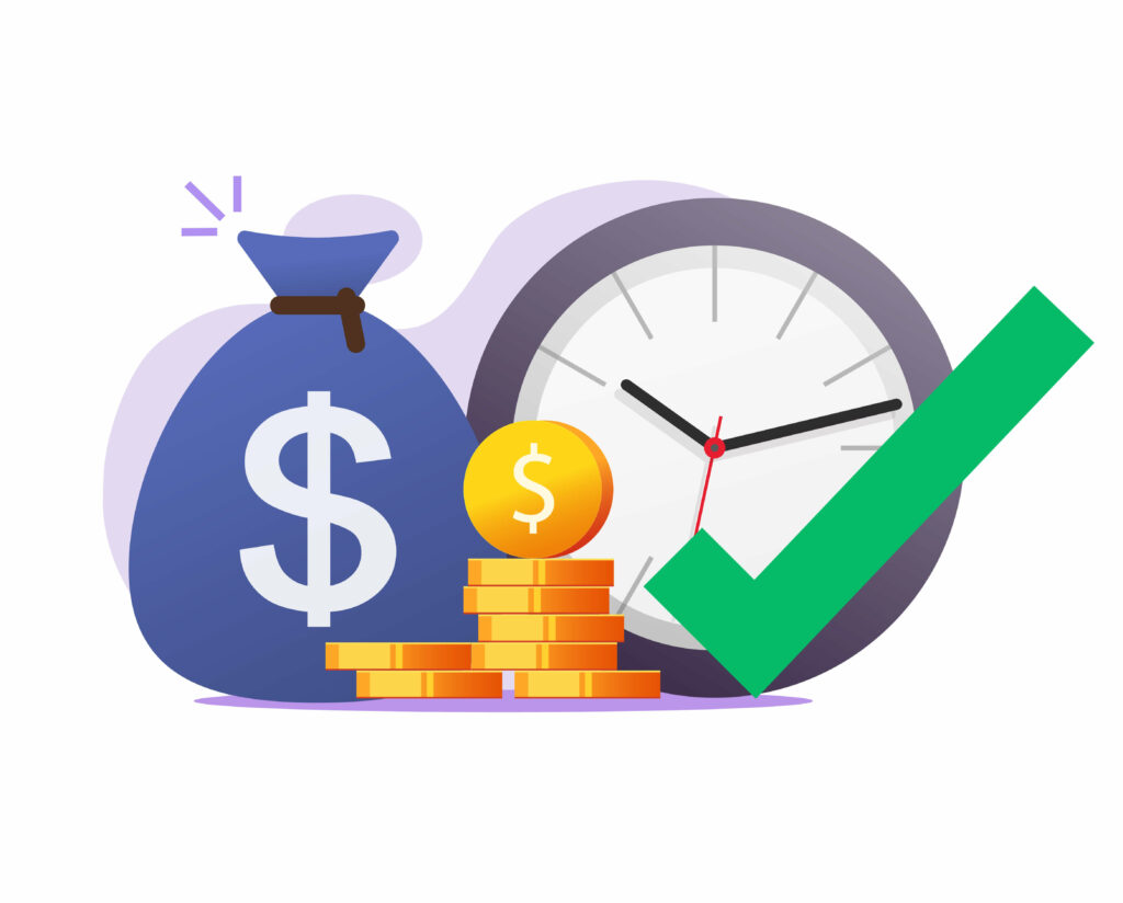 opportunity-right-time-moment-make-earn-money-vector-concept