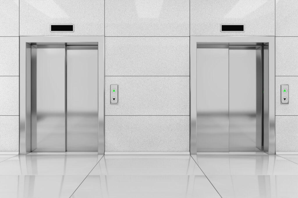 Linear motion in elevators